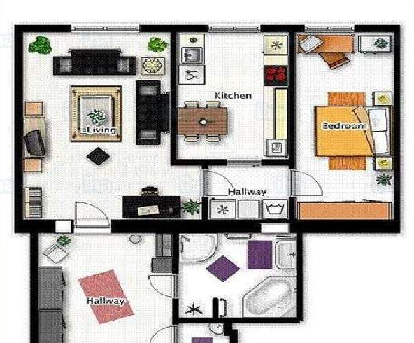 ADU floor plan